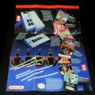 NES Satellite Poster - Nintendo 1989 - Never Used