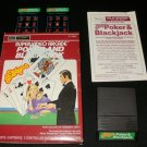 Las Vegas Poker & Blackjack - Mattel Intellivision - Complete - Sears Tele-Games Version