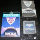 Psychic World - Sega Game Gear - Complete CIB