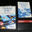 Fantasy Zone The Maze - Sega Master System - Complete CIB