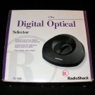 4 Way Digital Optical Selector - Radio Shack 2000 - Brand New