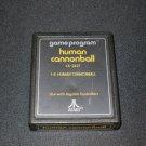 Human Cannonball - Atari 2600 - Orange Text Label Version