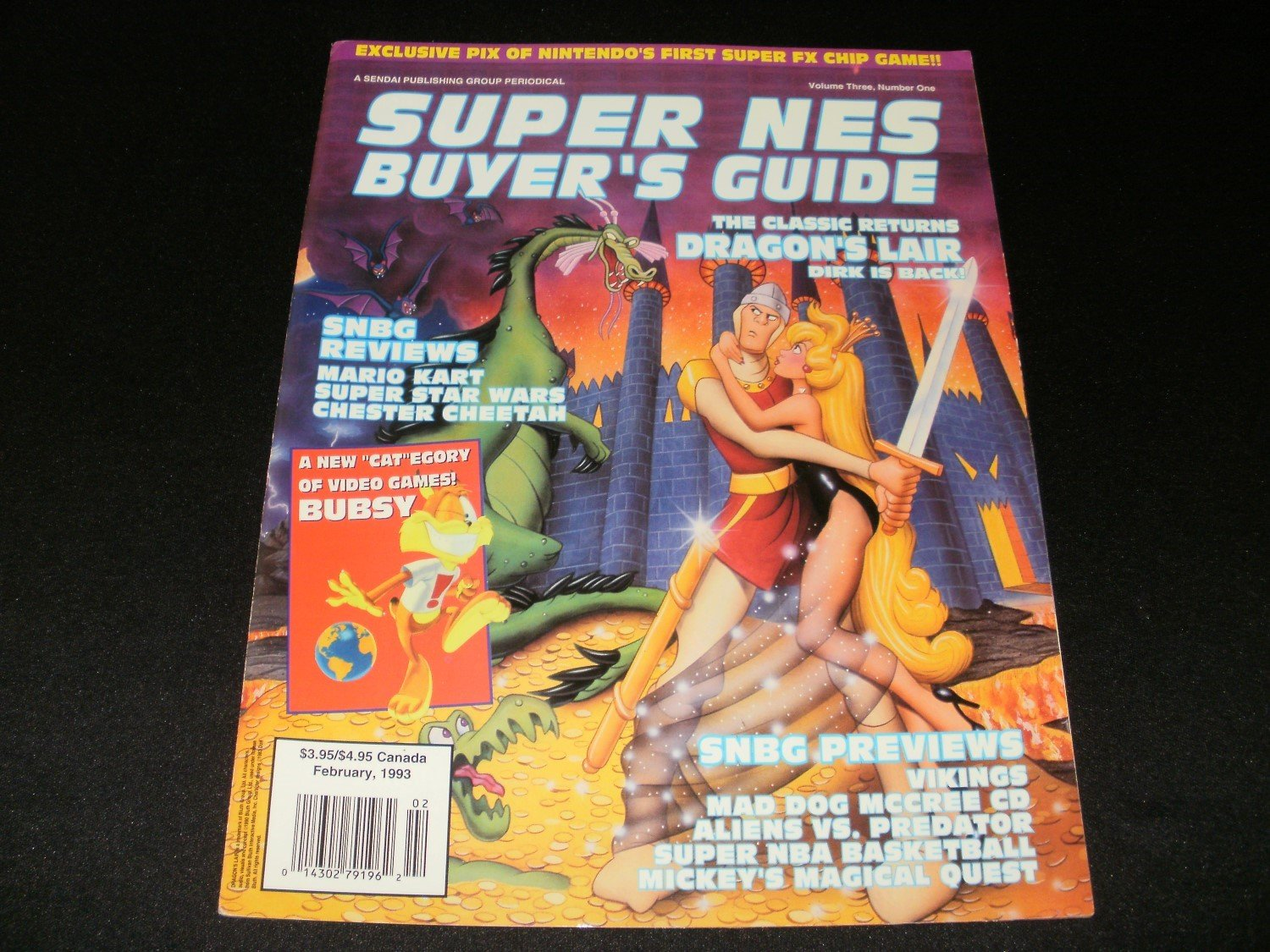 Super SNES Buyer's Guide - February 1993 - Volume 3 - Number 1