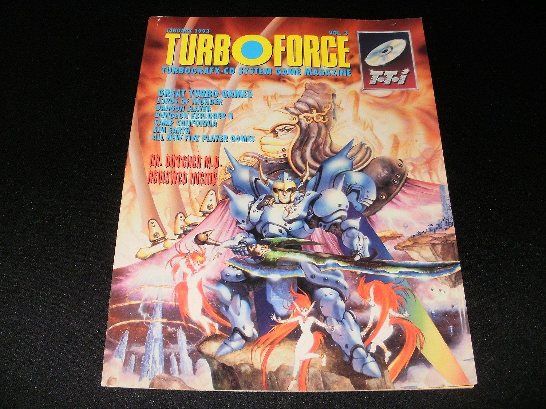 Turbo Force Magazine - January 1993 - Volume 3