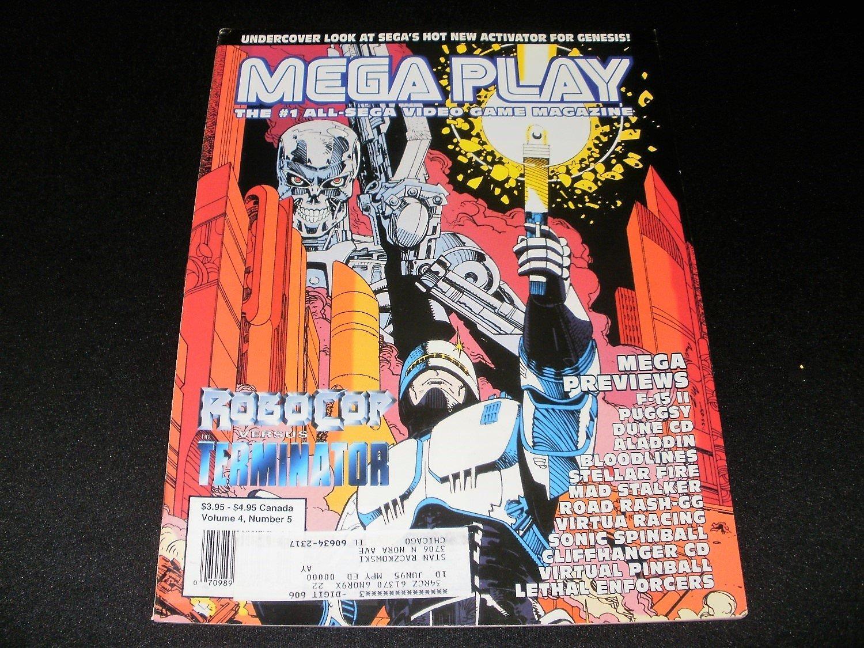 Mega Play Magazine - October 1993 - Volume 4 - Number 5