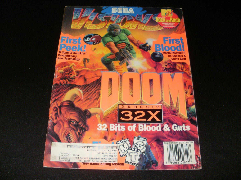 Sega Visions Magazine - October, November 1994