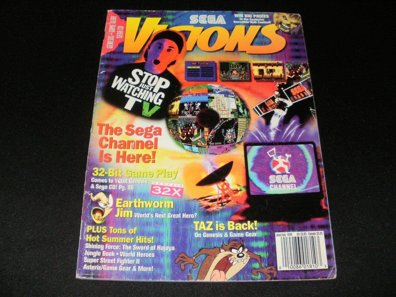 Sega Visions Magazine - June, July 1994