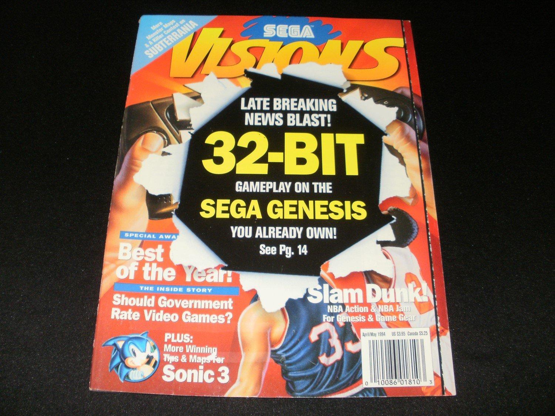 Sega Visions Magazine - April, May 1994