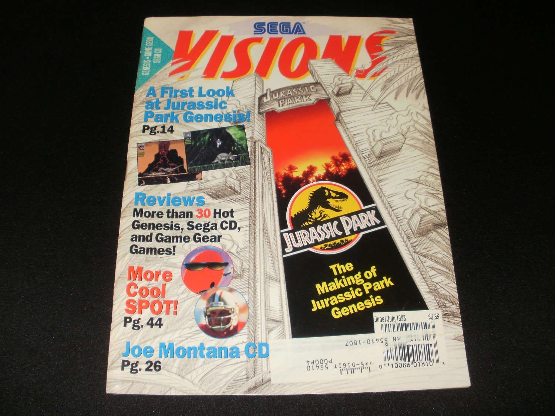 Sega Visions Magazine - June, July 1993