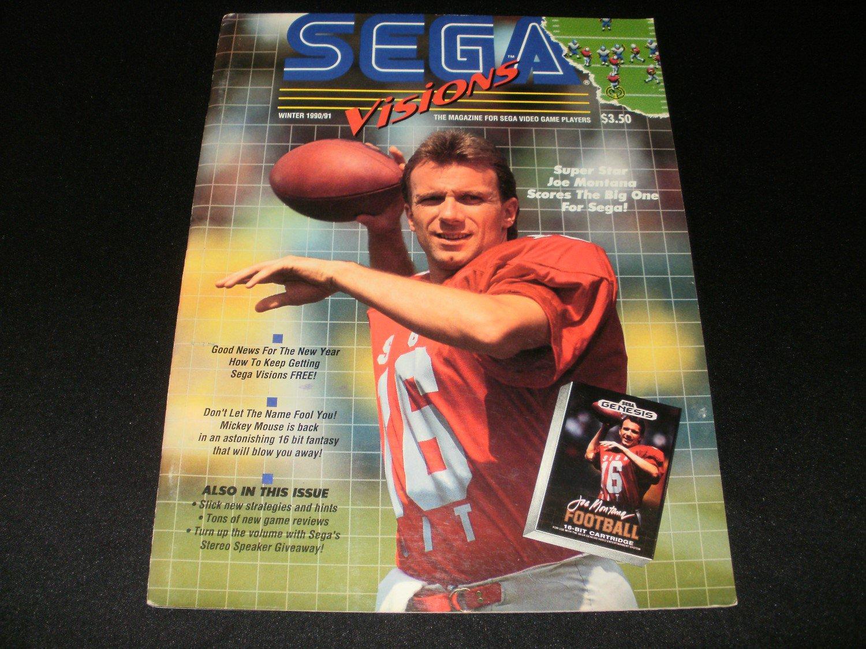 Sega Visions Magazine - Winter 1990 - Volume 1, Issue 3