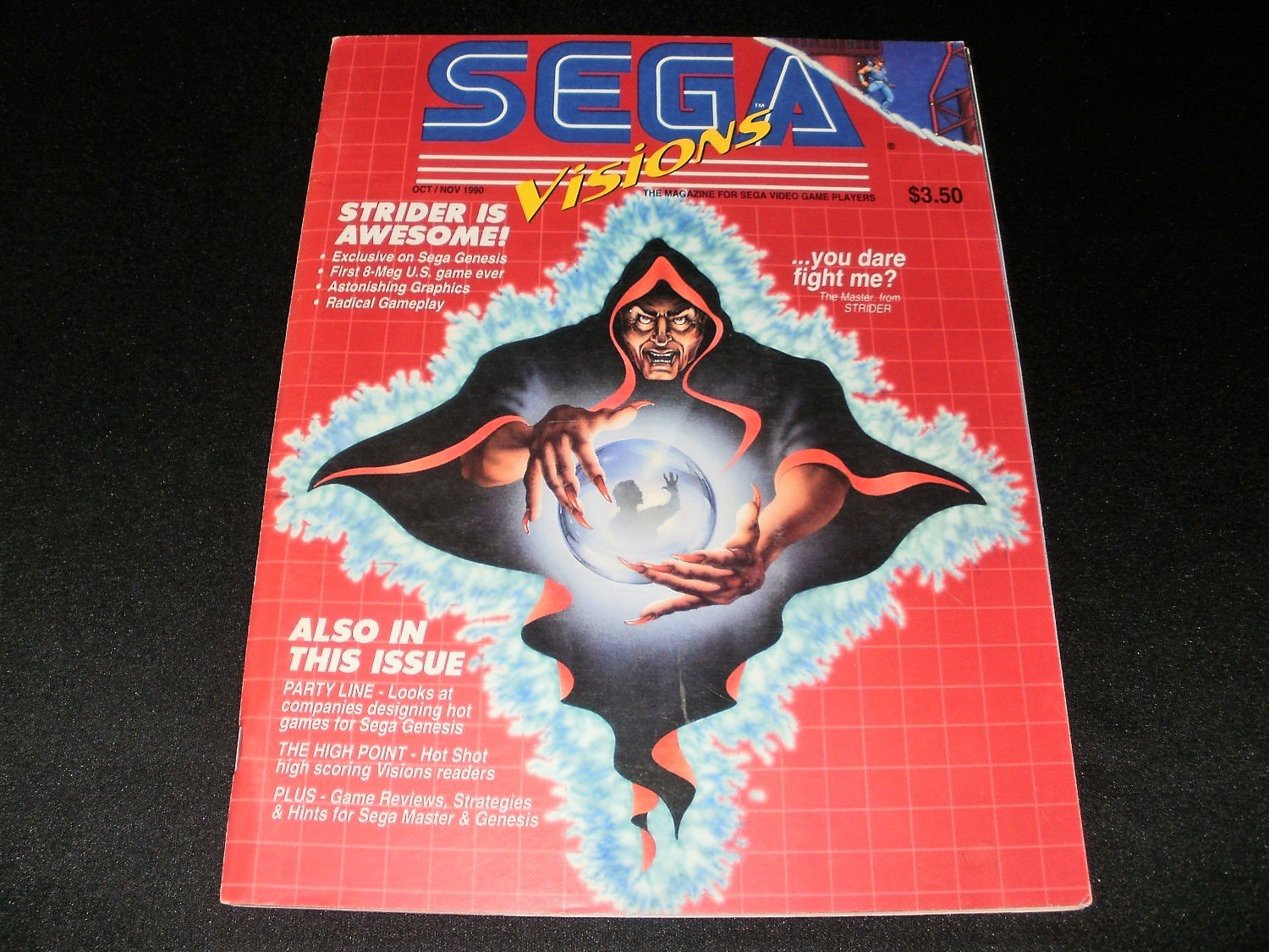 Sega Visions Magazine - October, November 1990