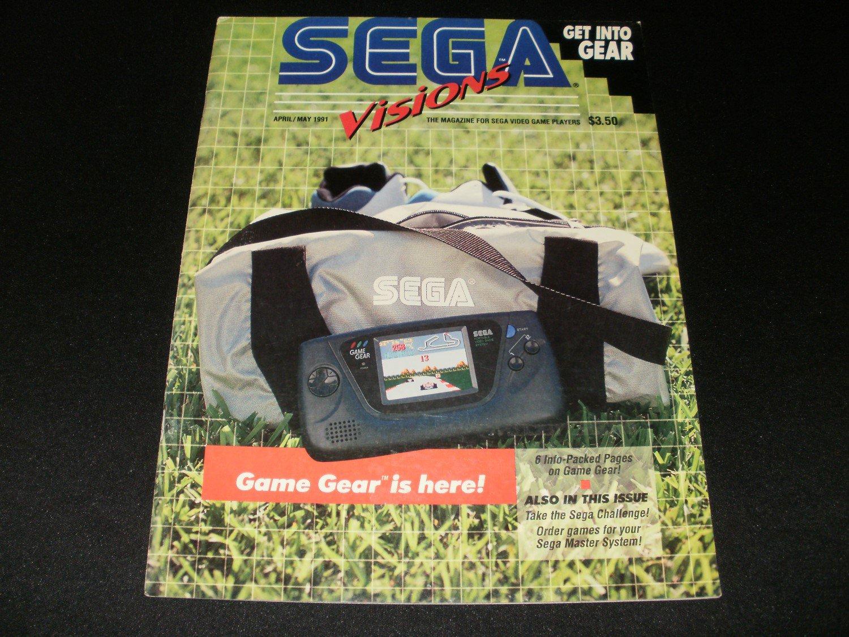 Sega Visions Magazine - April, May 1991