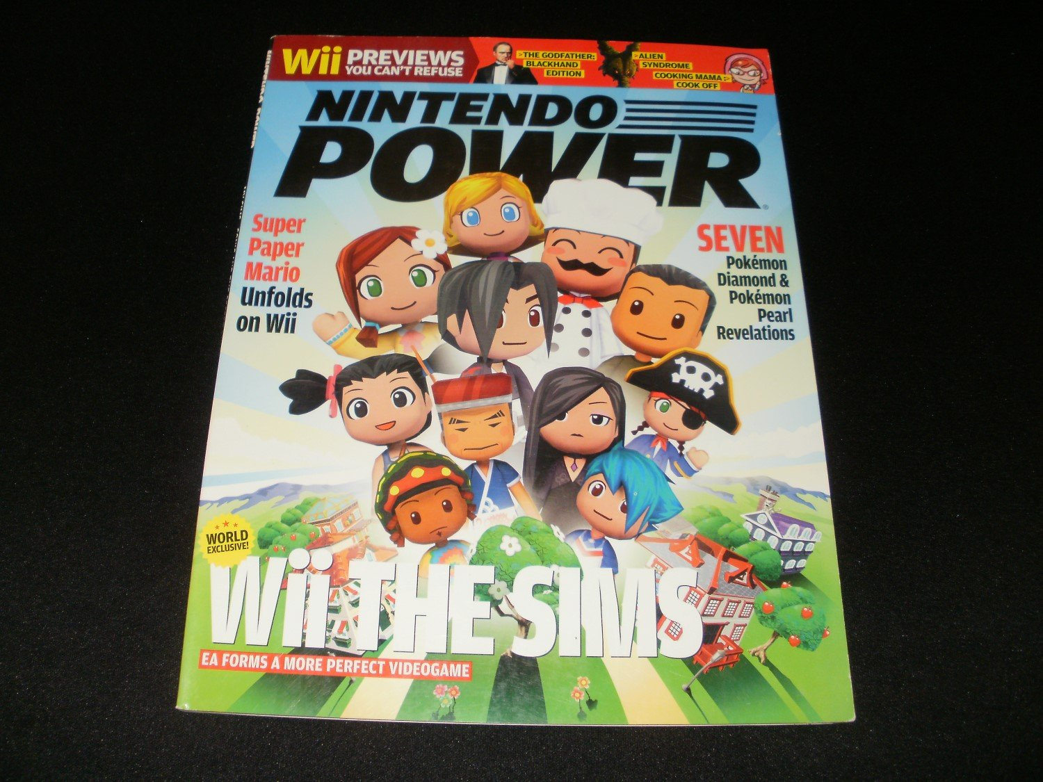 Nintendo Power - Issue No. 214 - April, 2007