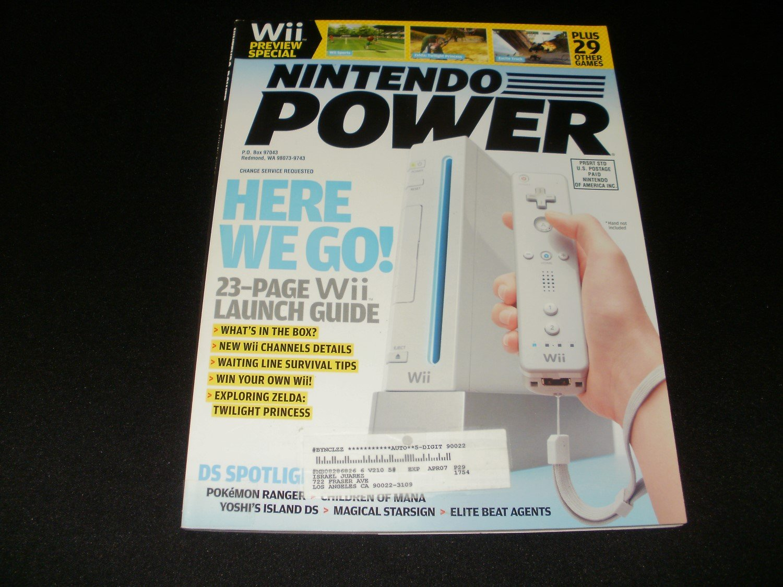 Nintendo Power - Issue No. 210 - December, 2006