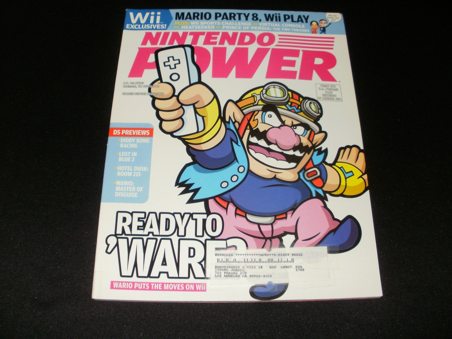 Nintendo Power - Issue No. 212 - February, 2007