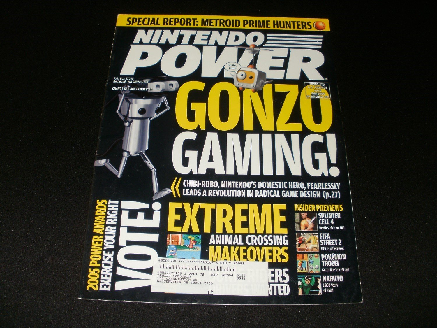 Nintendo Power - Issue No. 201 - March, 2006