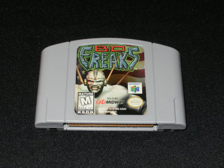Bio FREAKS - N64 Nintendo