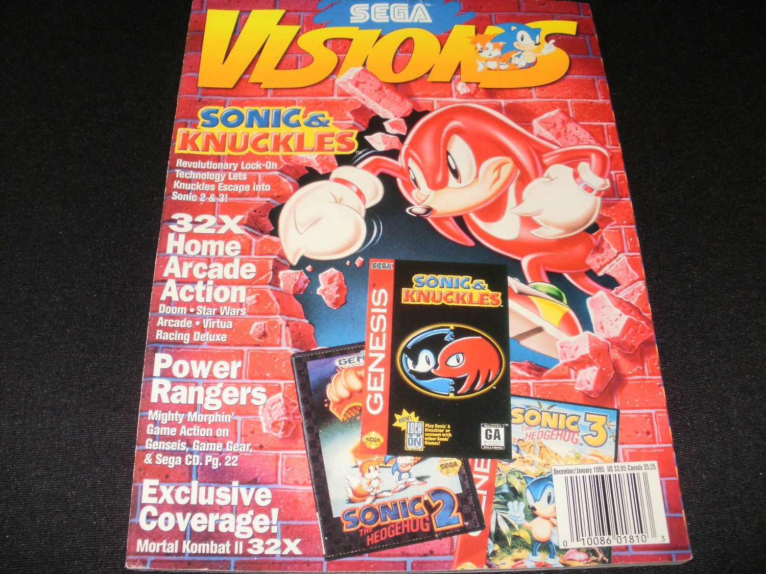 Sega Visions Magazine - December, January 1995