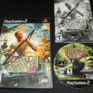 Medal of Honor Rising Sun - Sony PS2 - Complete CIB - Medal of Honor Collection Version