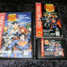 Justice League Task Force - Sega Genesis - Complete CIB