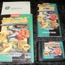 Street Fighter II Special Champion Edition - Sega Genesis - Complete CIB - Accolade Re-release