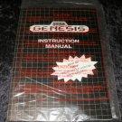 Sega Genesis Manual & Original Paper Work - New - No Console Included
