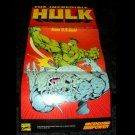 The Incredible Hulk Poster - Nintendo Power August, 1994 - Never Used