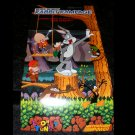 Bugs Bunny Rabbit Rampage Poster - Nintendo Power January, 1994 - Never Used