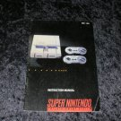 Super Nintendo Entertainment System Instruction Manual - 1991 Manual Only