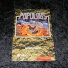 Populous - SNES Super Nintendo - 1991 Manual Only