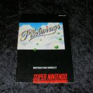 Pilotwings - SNES Super Nintendo - 1991 Manual Only