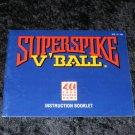 Super Spike V'Ball - Nintendo NES - Manual Only