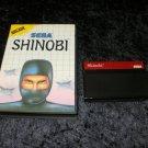 Shinobi - Sega Master System - With Box - PAL Release