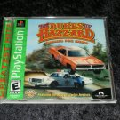 Dukes of Hazzard Racing for Home - Sony PS1 - Complete CIB