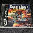 BattleTanx Global Assault - Sony PS1 - Complete CIB
