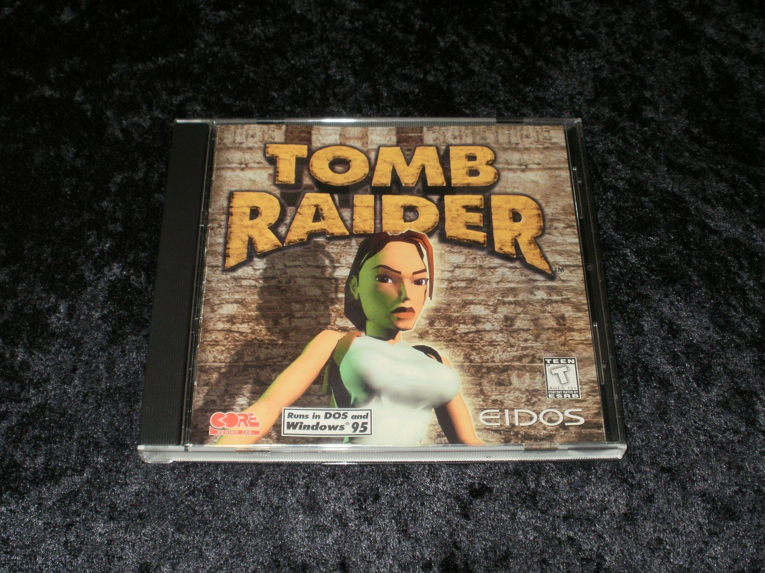 Tomb Raider - 1996 Eidos Interactive - IBM PC - With Manual