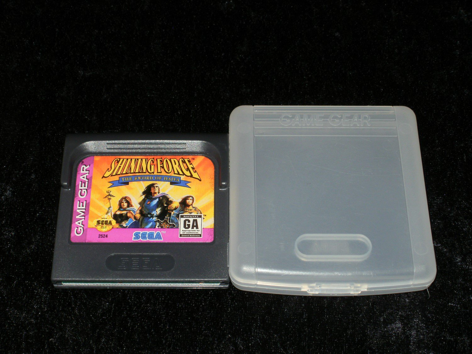 Shining Force The Sword of Hajya - Sega Game Gear - With Case