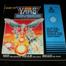 Story of Atari Yars' Revenge - 33 1/3 RPM Record - Kid Stuff Records 1982 - Rare