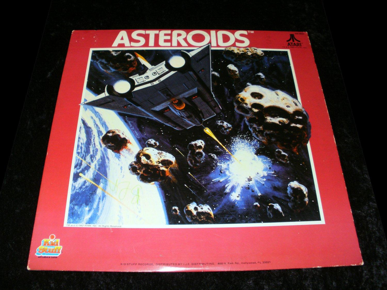 Atari Asteroids - LP Record - Kid Stuff Records 1982