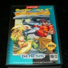 Street Fighter 2 Special Champion Edition - Sega Genesis - With Capcom Logo Box