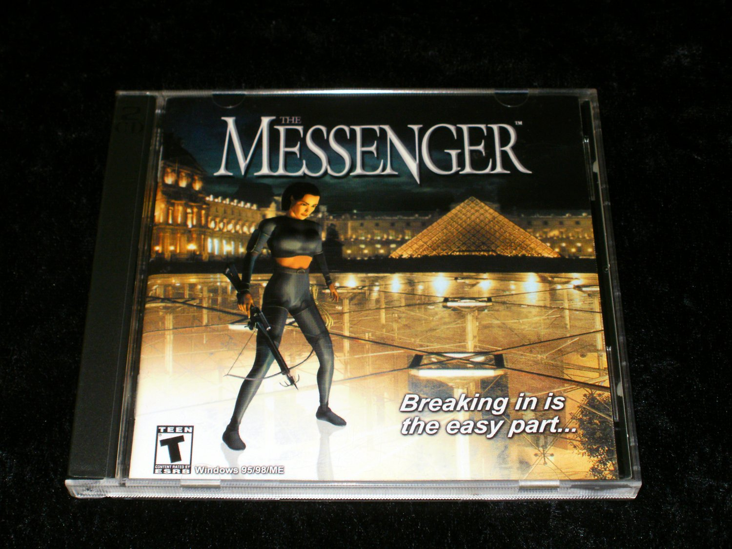 Messenger - 2001 DreamCatcher Interactive - IBM PC - With Manual