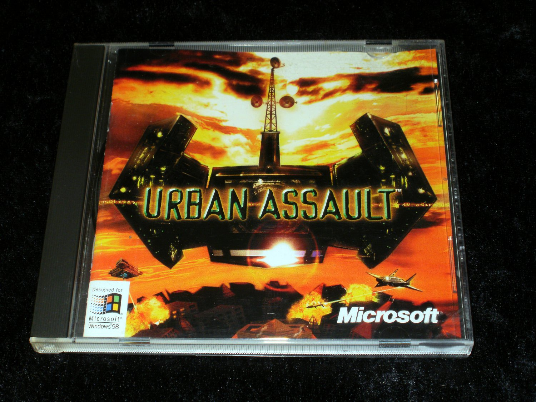 Urban Assault - 1996 Microsoft - IBM PC - With Manual - Rare