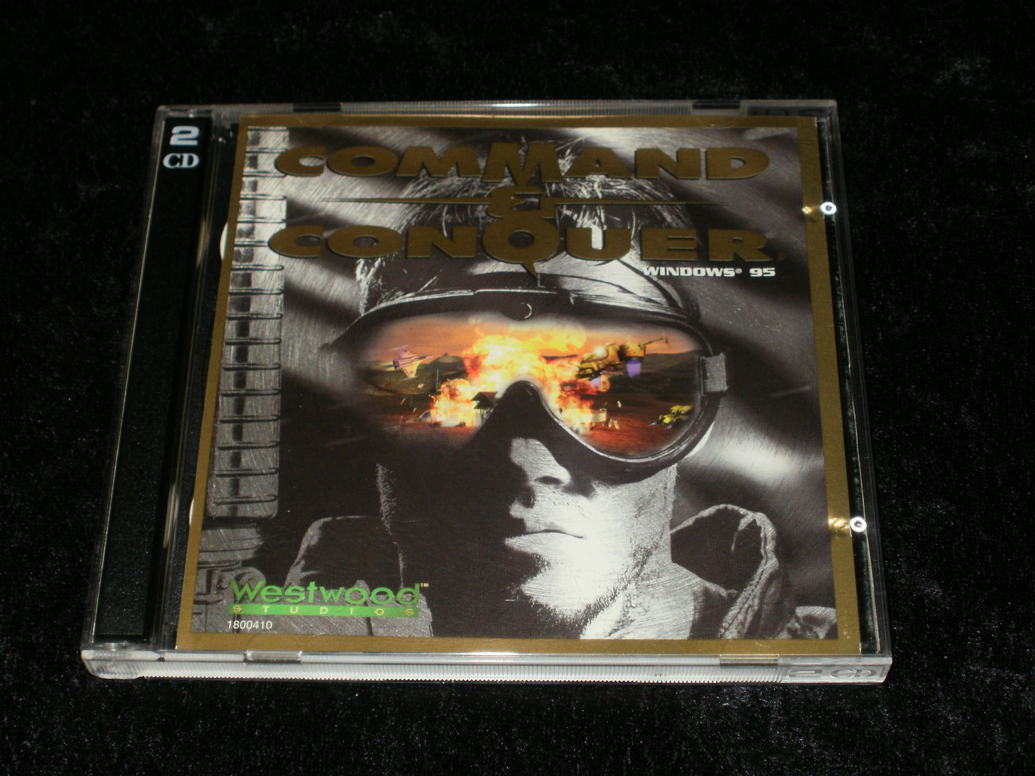 Command & Conquer - IBM PC - 1995 Westwood Studios - With Case