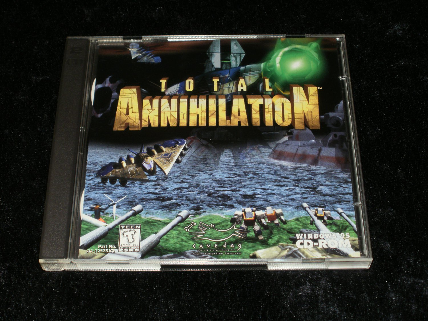 Total Annihilation - IBM PC - 1997 GT Interactive - With Case