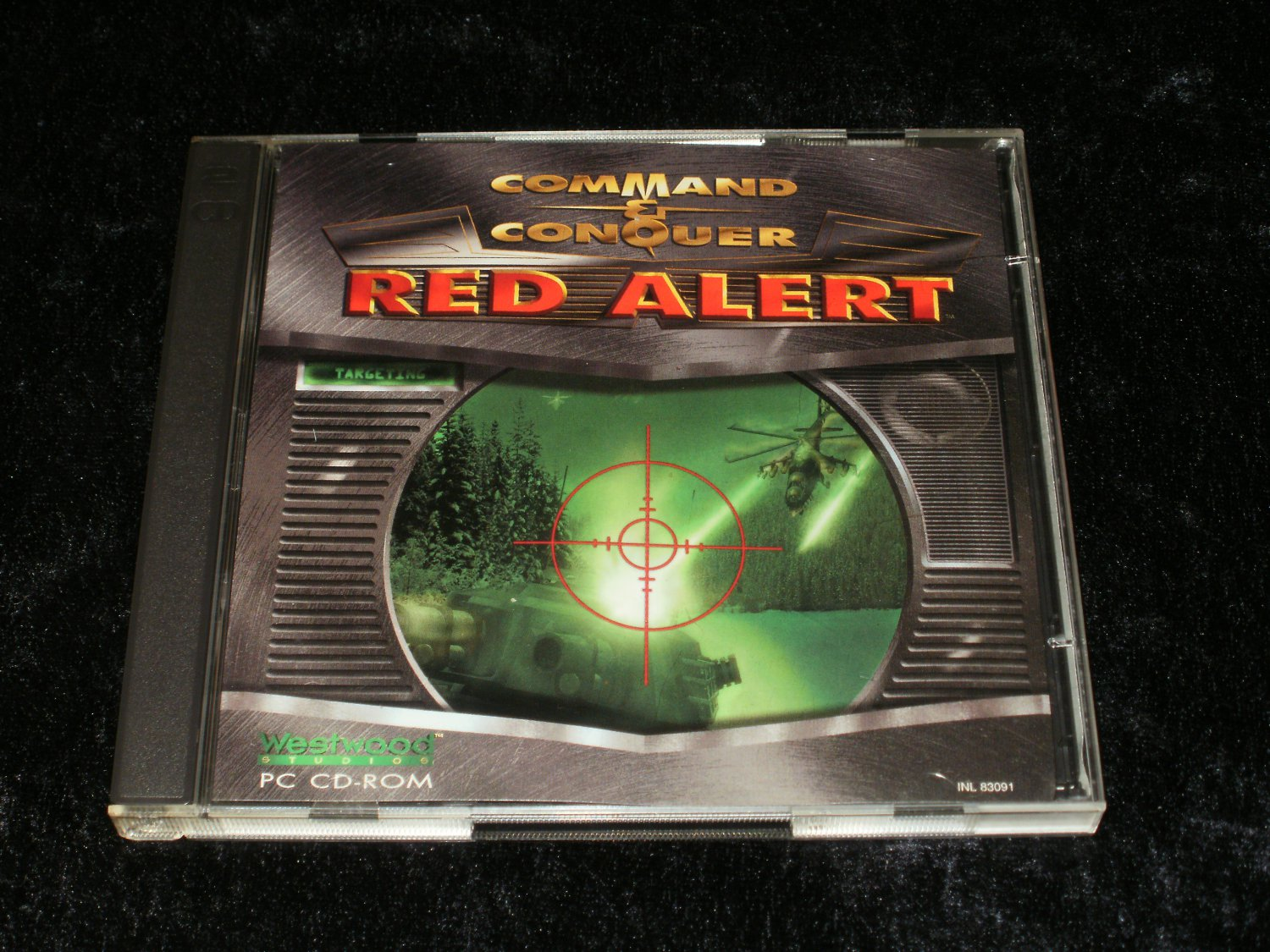 Command & Conquer Red Alert - IBM PC - 1996 Westwood Studios - With Case