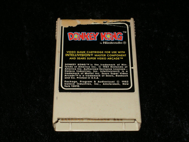 Donkey Kong - Mattel Intellivision - 1982 White Version