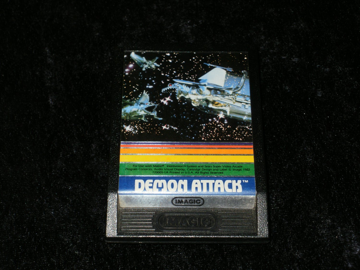 Demon Attack - Mattel Intellivision