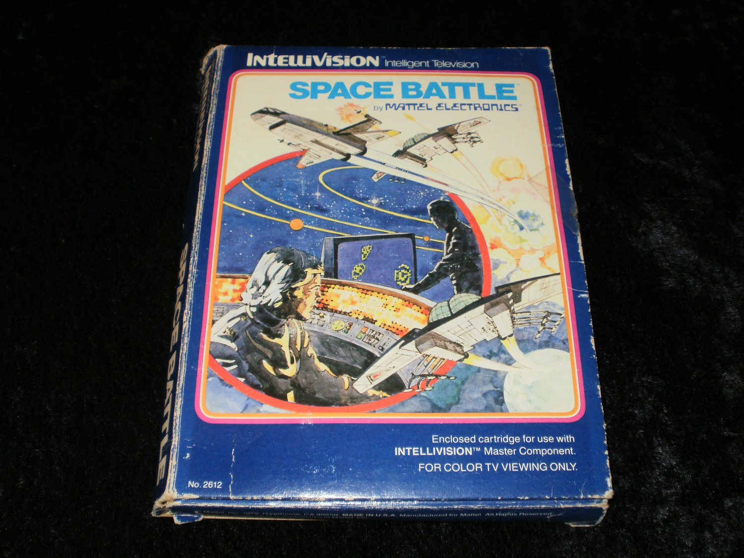 Space Battle - Mattel Intellivision - Complete CIB