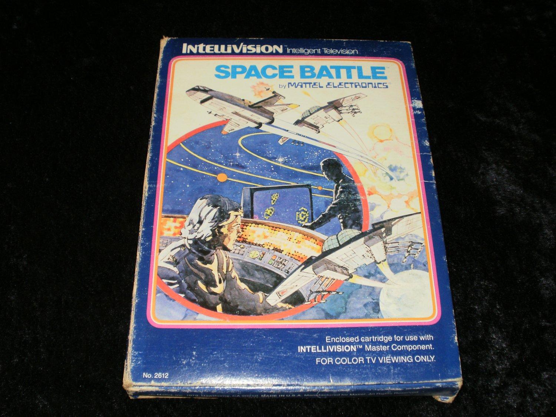 Space Battle - Mattel Intellivision - Complete CIB