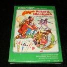 Las Vegas Poker & Blackjack - Mattel Intellivision - Complete CIB